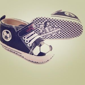 Other - Baby Boy Soccer Shoes Soft Easy Stylish Fun Canvas
